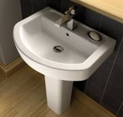 Wickes Capri Sink for the en-suite