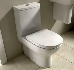 Wickes Inca toilet for the bathroom