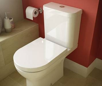 Wickes Vieste toilet for the en-suite