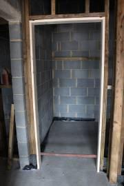 One of the door surrounds (bathroom)