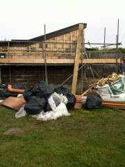 Site rubbish and weekend jobs