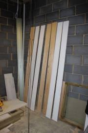 Primer undercoat for door frame timber