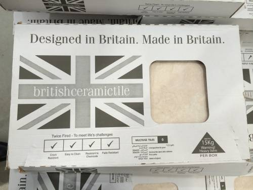 Good value tile and made in Britain