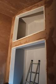 Bedroom built-in wardrobe and cupboard