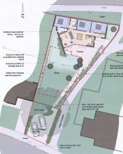 Planning permission application submitted