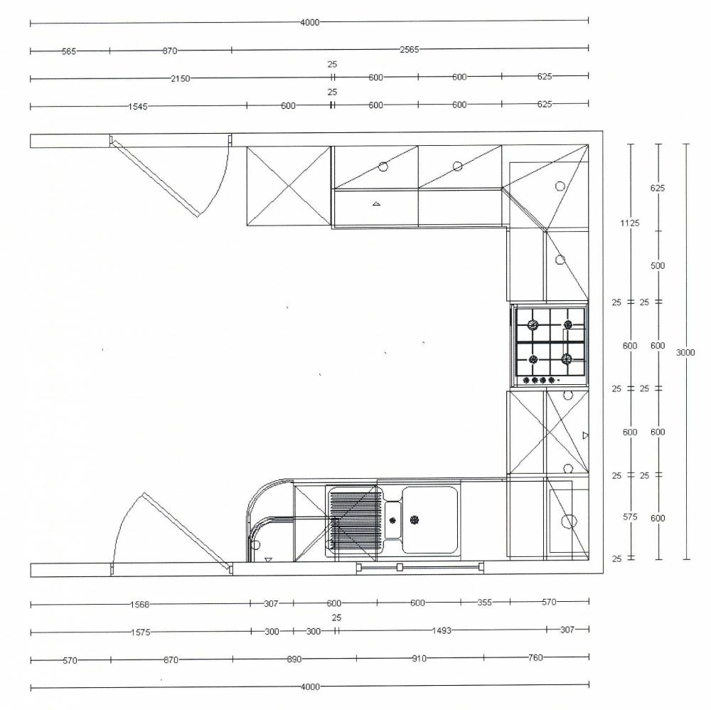 Kitchen ordered today self build blog for Kitchen unit dimensions