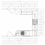 Kitchen unit layout block dimensions