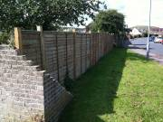 Anti Fly-Tipping Fencing Erected