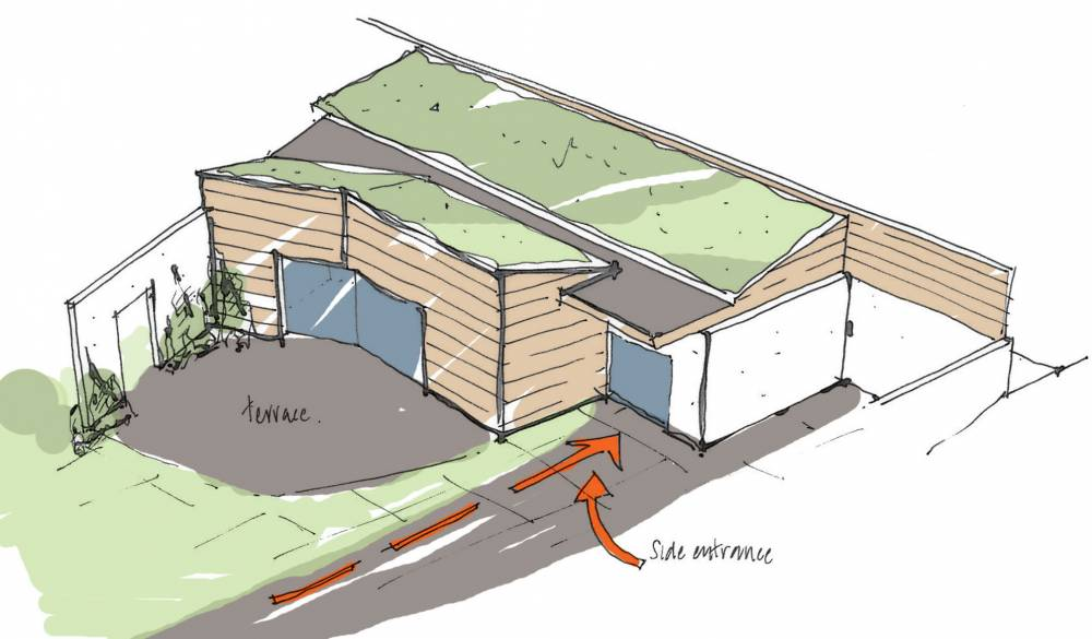 New Butterfly Roof Design Sketches Self Build Blog