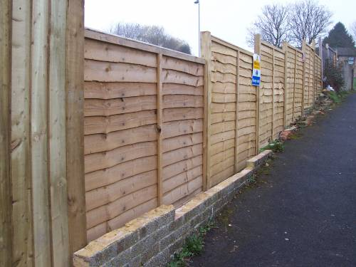 More site fencing