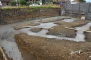 Trenches filled at the end of the day