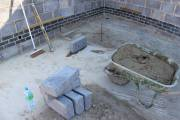 And this is the 2nd house block in place