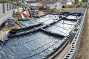 Damp proof membrane will have concrete poured on top