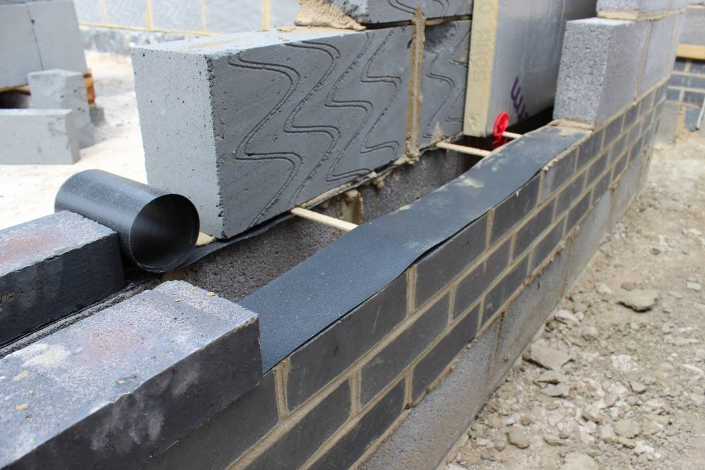 The House Exterior Walls Are Going Up Self Build Blog