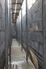 """The back alley is now """"scaffolding alley"""""""