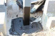 Coated with bitumen to help prevent corrosion